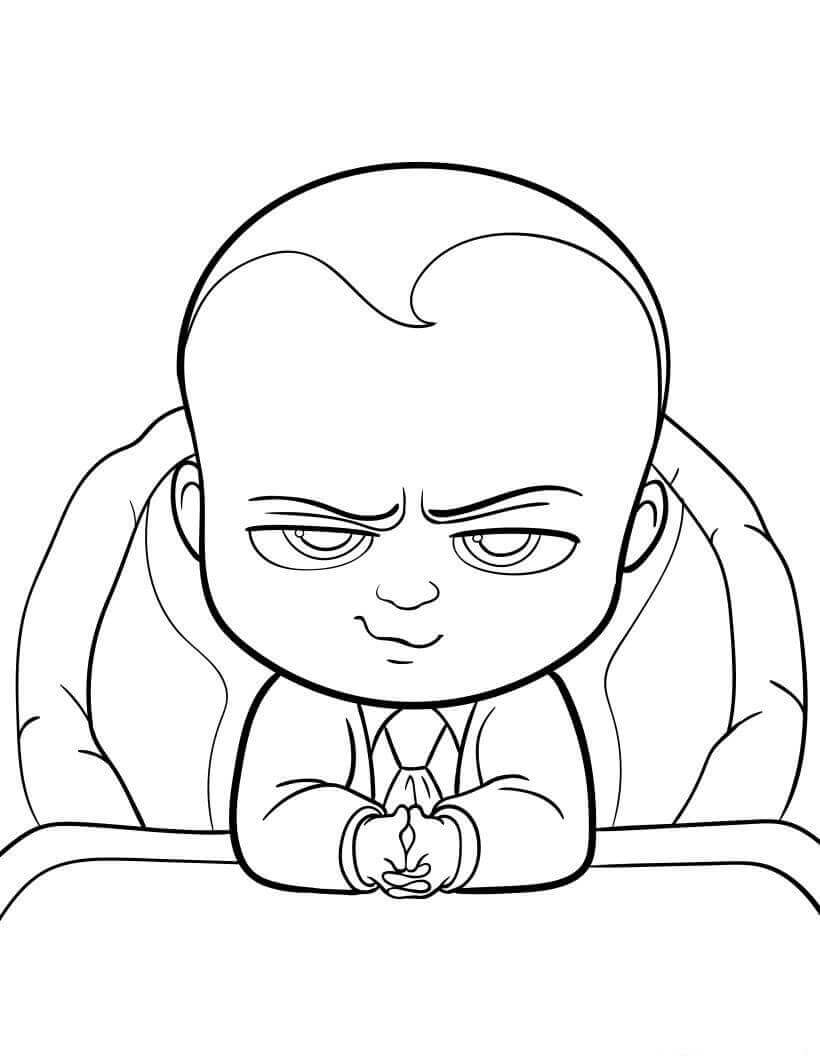 The Boss Baby Back in Business Coloring Pages