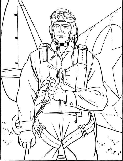 Veterans Day Coloring Pages For Preschoolers
