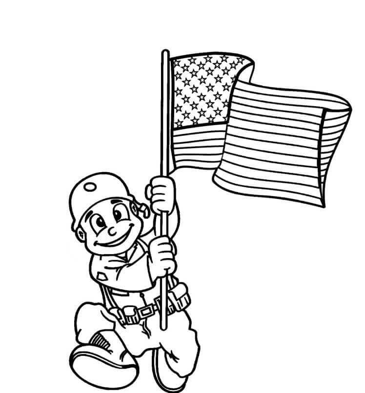 Veterans Day Coloring Pictures