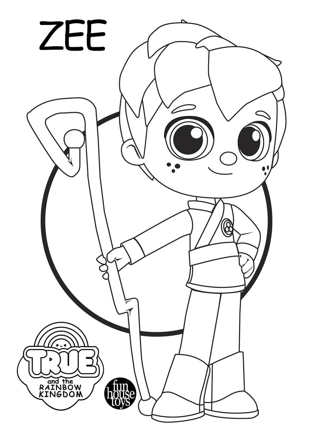 15 Free Printable True And The Rainbow Kingdom Coloring Pages