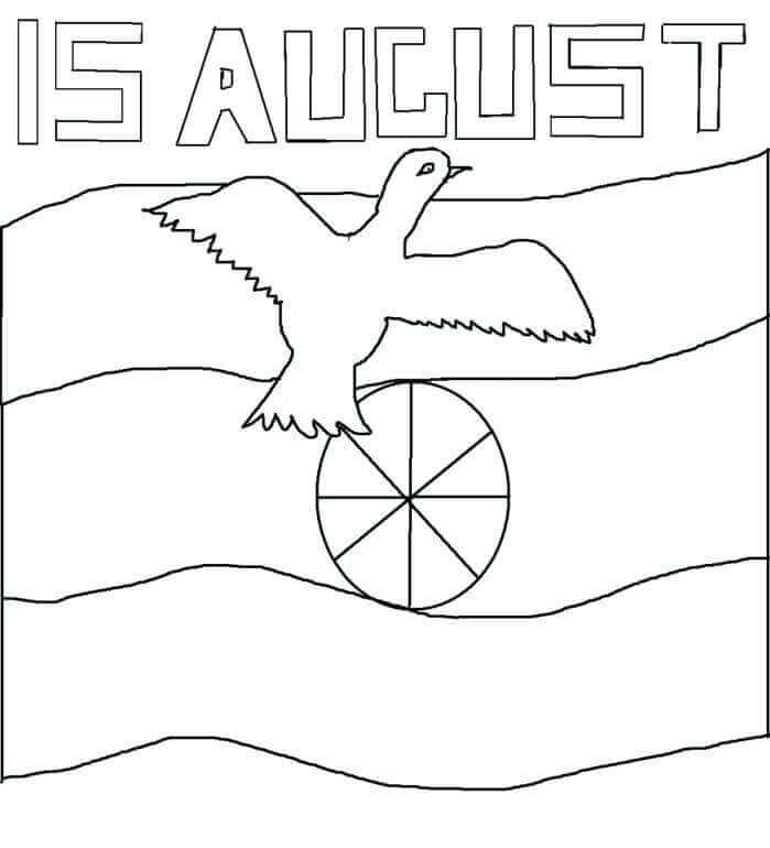 15th August Coloring Sheet
