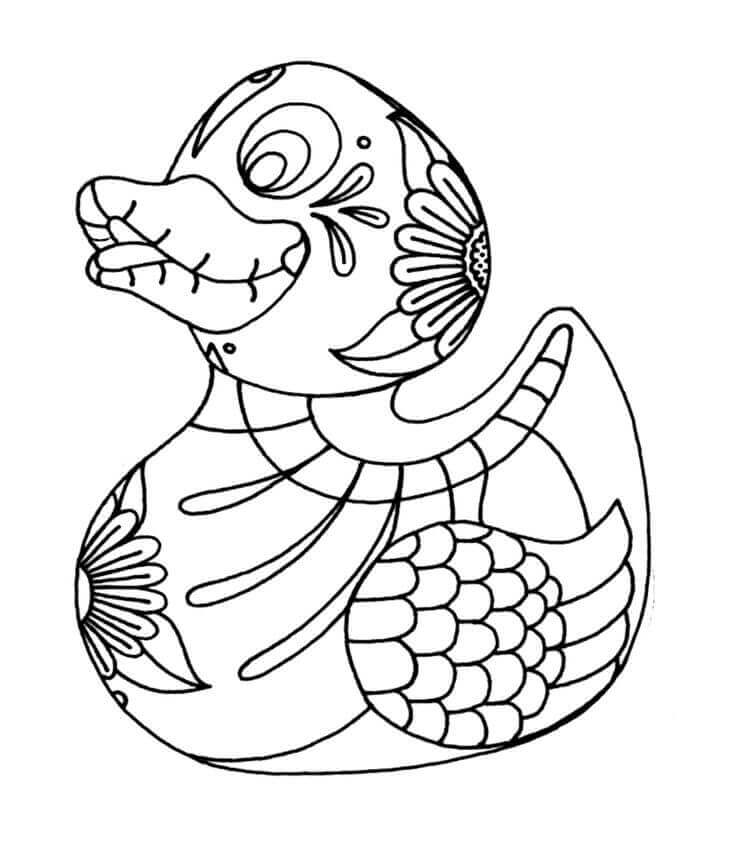 Day Of The Dead Coloring Pages For Preschoolers