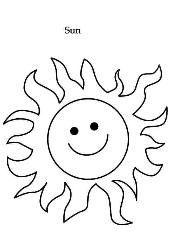 Solar Eclipse Coloring Pictures