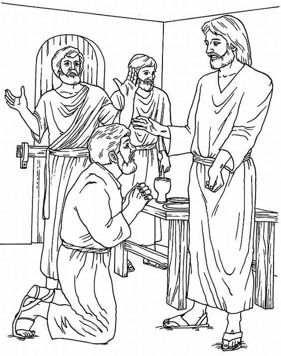 St Thomas Day Coloring Page