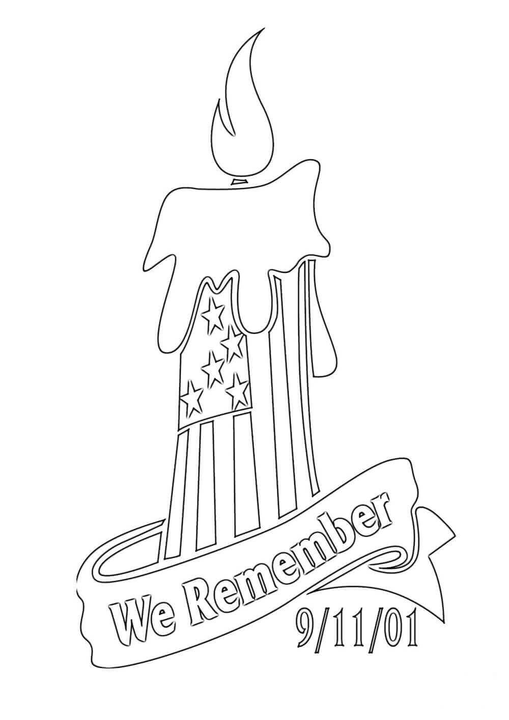 11 September Coloring Pages