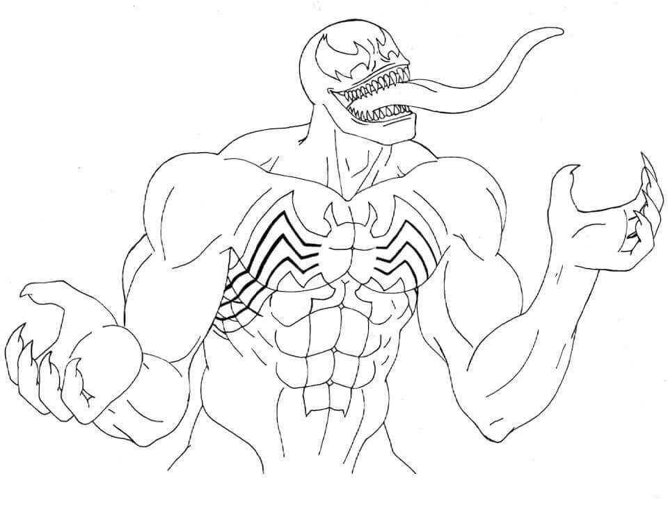 Antivenom Coloring Pages