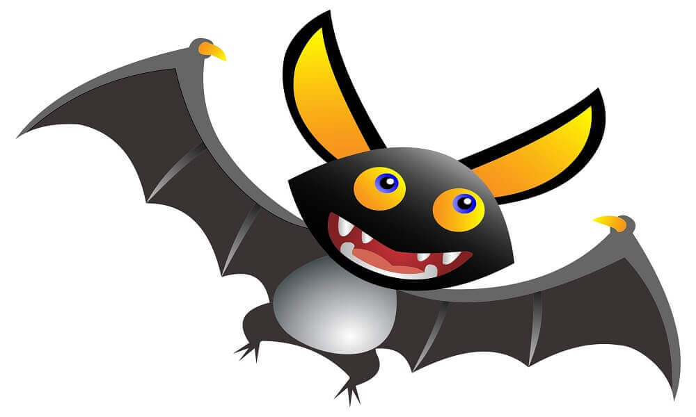 clipart bat cartoon coloring pages bats printable cute webstockreview