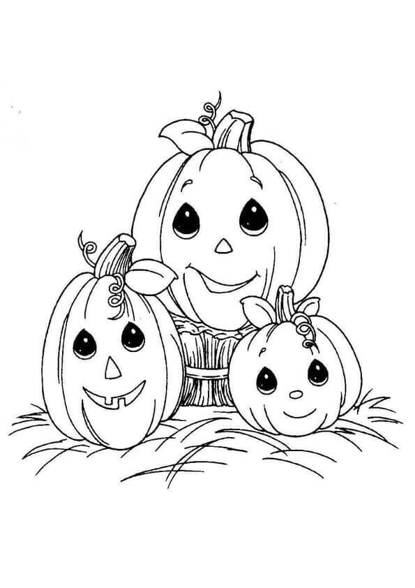 kawaii halloween coloring pages - photo#32