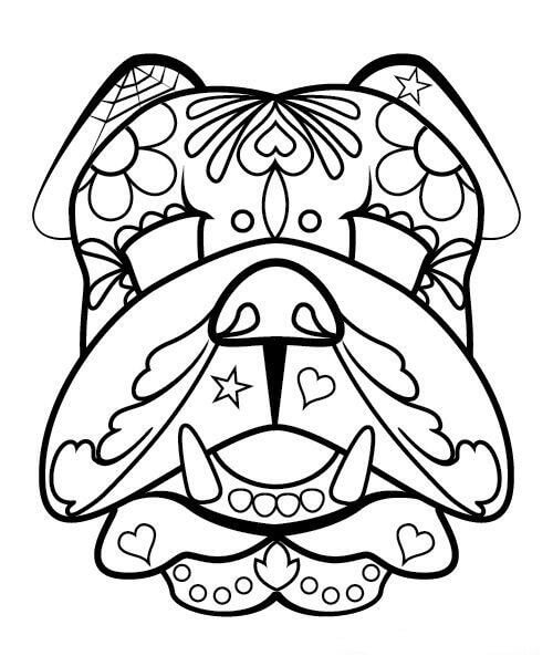 - 30 Free Printable Sugar Skull Coloring Pages