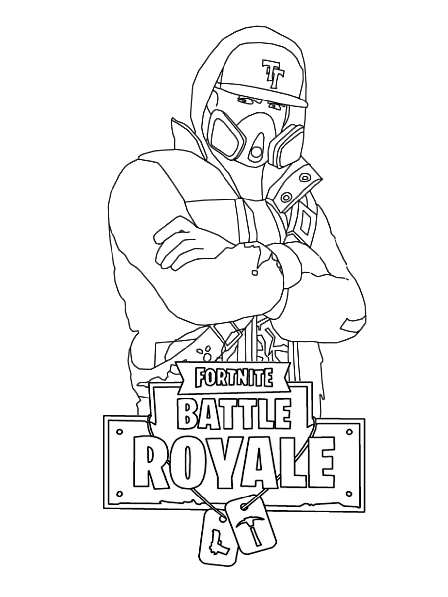 image about Fortnite Printable Images named 34 Absolutely free Printable Fortnite Coloring Webpages