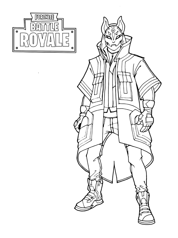 photo relating to Fortnite Printable called 34 Cost-free Printable Fortnite Coloring Web pages
