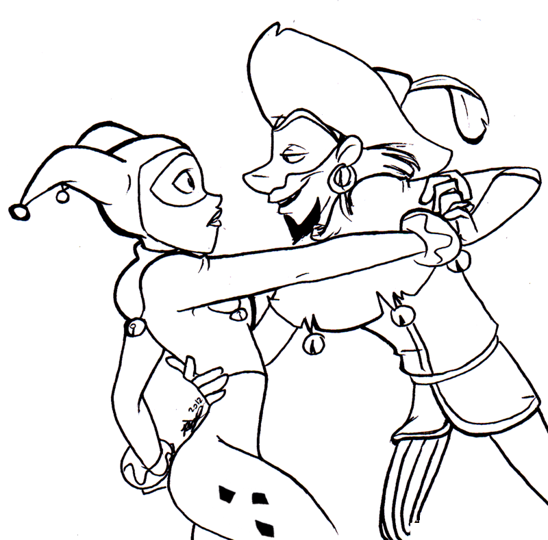 Harley Quinn Coloring Pages To Print