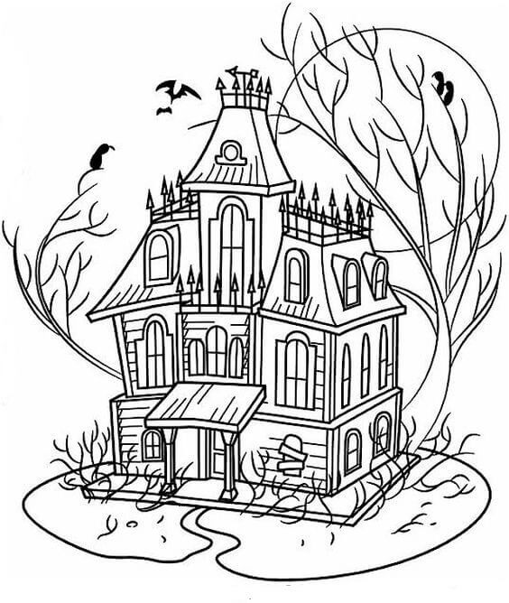 Haunted House Activity Sheets