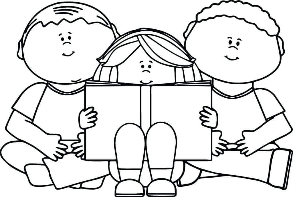 International Literacy Day Coloring Pages