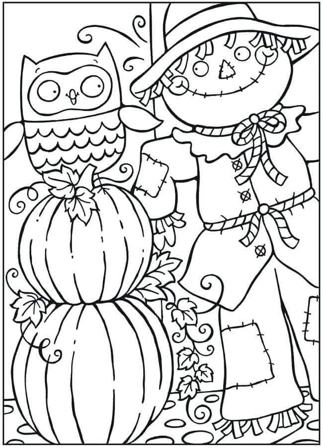Pumpkin Coloring Printable