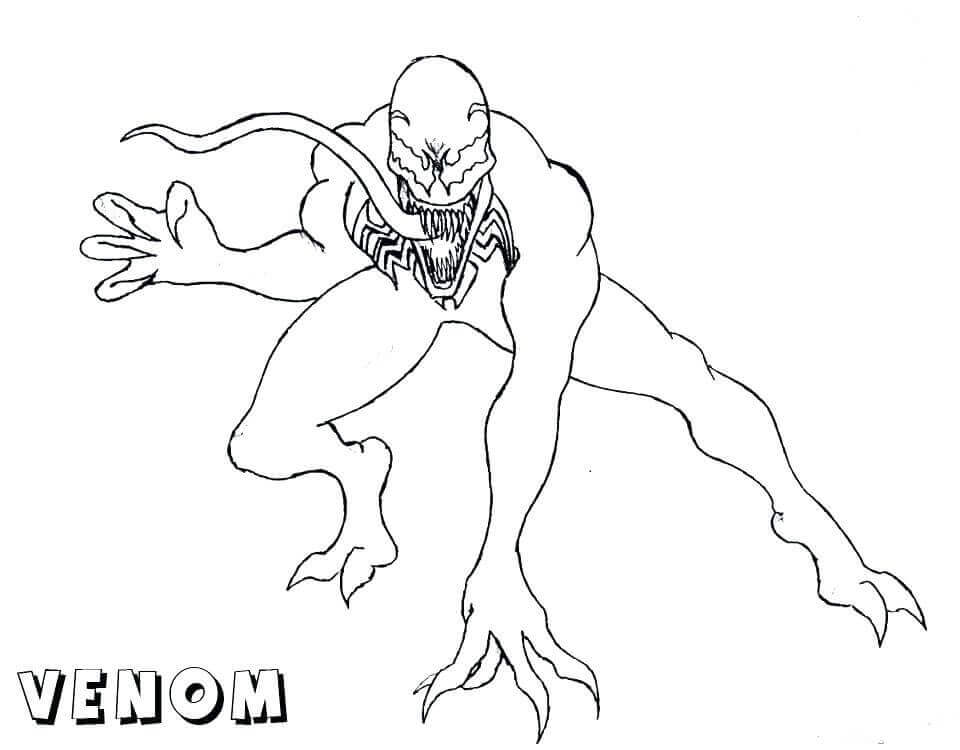 Venom Coloring Pages To Print