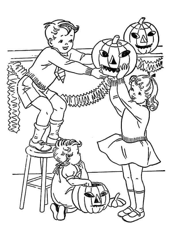 halloween decorations coloring pages - 30 cute halloween coloring pages for kids
