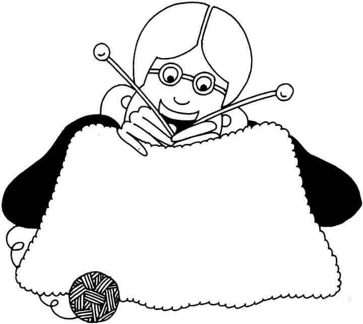 Free Grandparents Coloring Pages