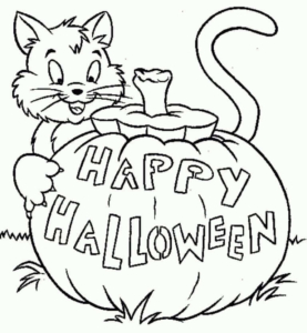 Free Jack O Lantern Coloring Pages