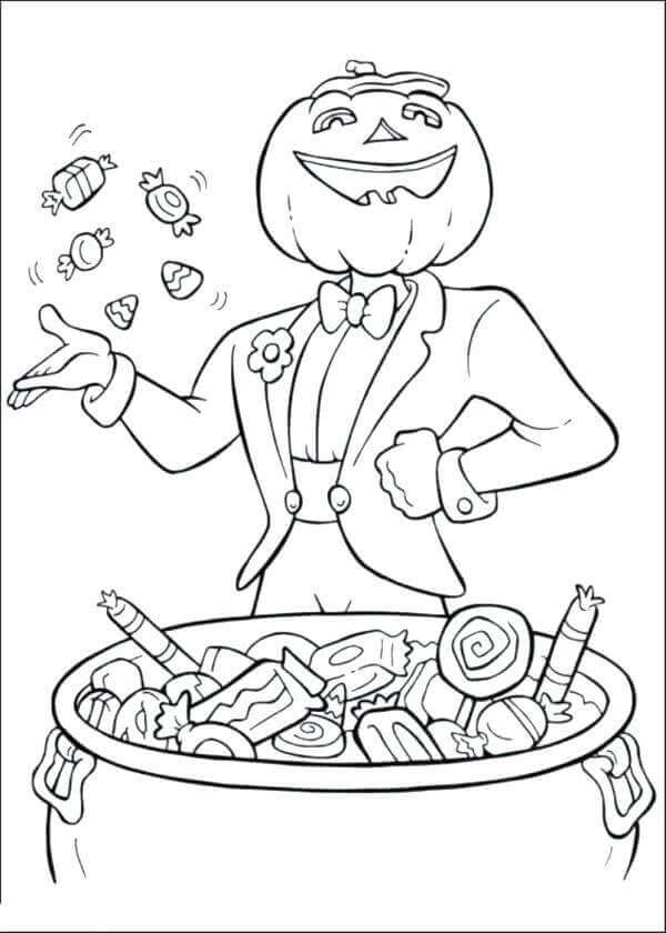 Free Jack O Lantern Coloring Sheets