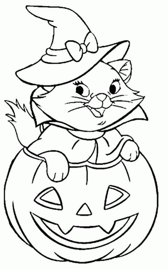 Free Printable Halloween Coloring Pictures