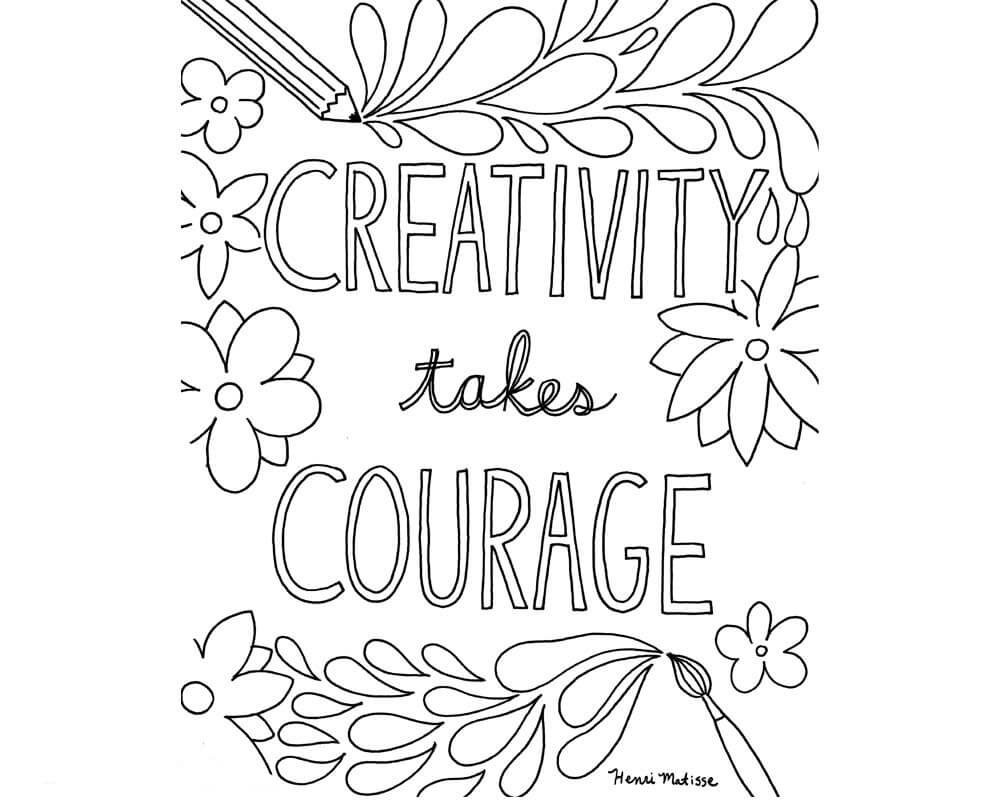 Growth Mindset Coloring Pictures Printable