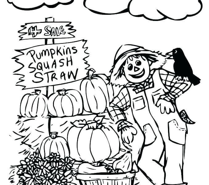 October Coloring Pages Printable Fall