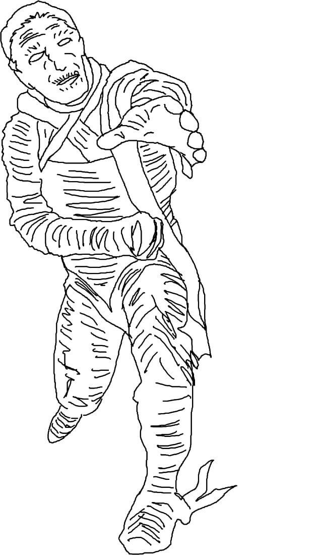 25 Free Mummy Coloring Pages Printable