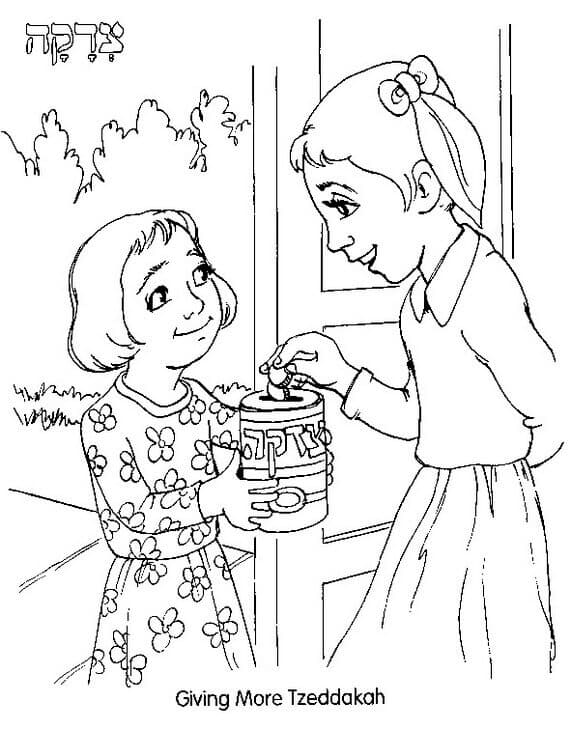 This is a picture of Canny Rosh Hashanah Coloring Pages Printable