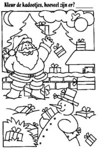 Santa Claus Coloring Images