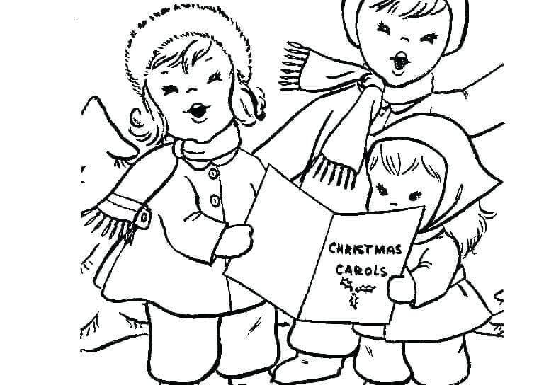 Advent Activities Coloring Page