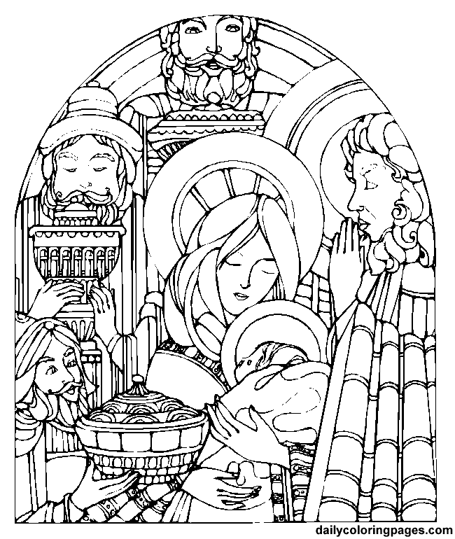 Advent Coloring Book For Kids