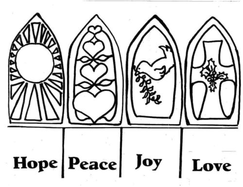 Advent Coloring Pages To Print
