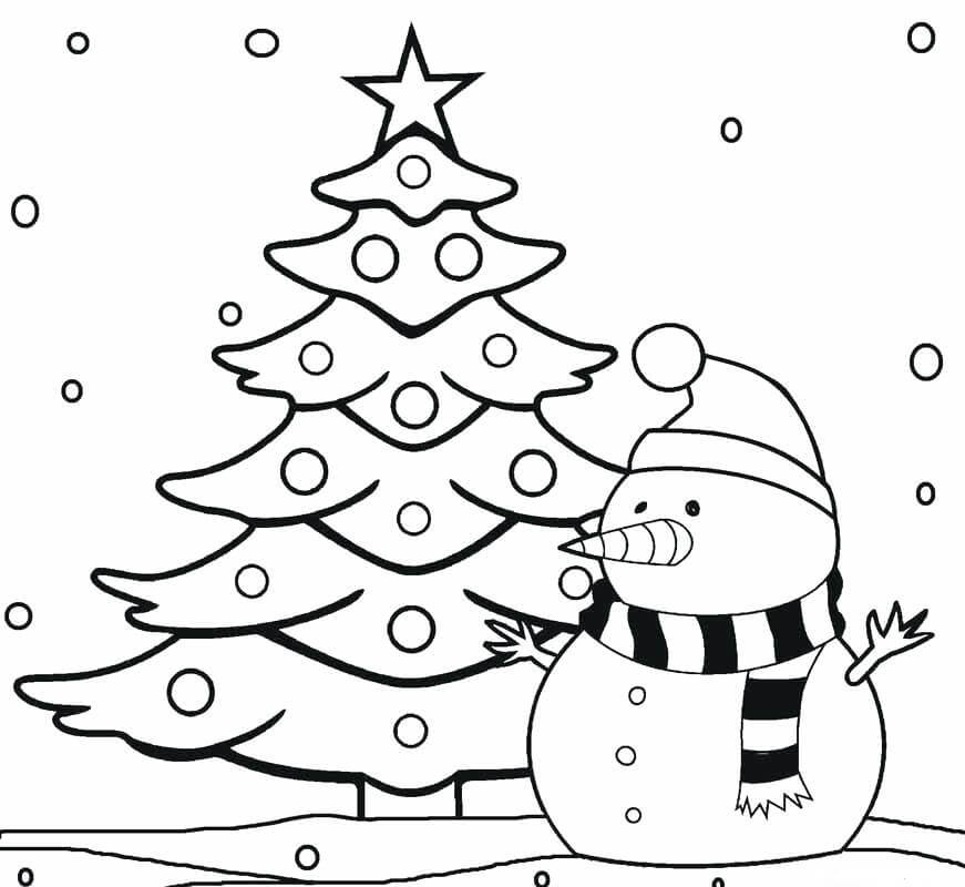 35 Free Christmas Tree Coloring Pages To Print