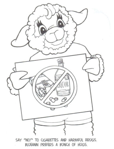 Drug Free Coloring Pages For Kids