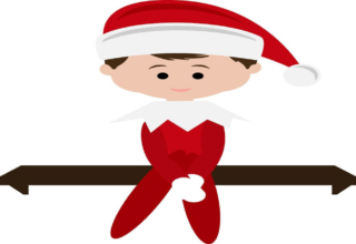 Elf On The Shelf Clipart
