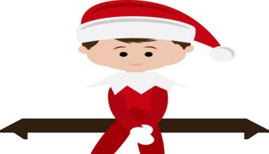 Elf On The Shelf Clipart