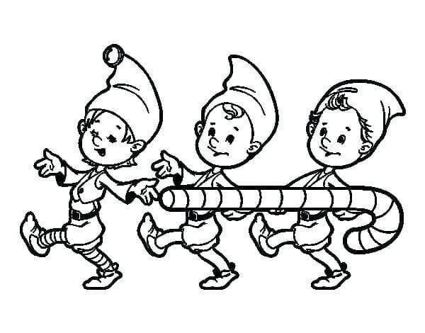 Elf On The Shelf Coloring Pictures Printable