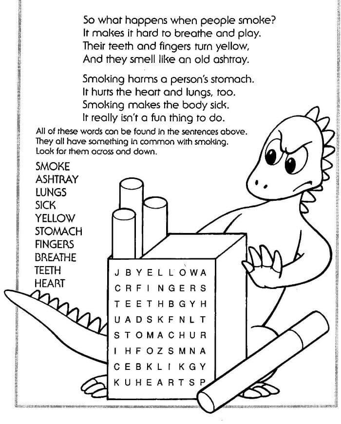 Red Ribbon Week Coloring Pictures