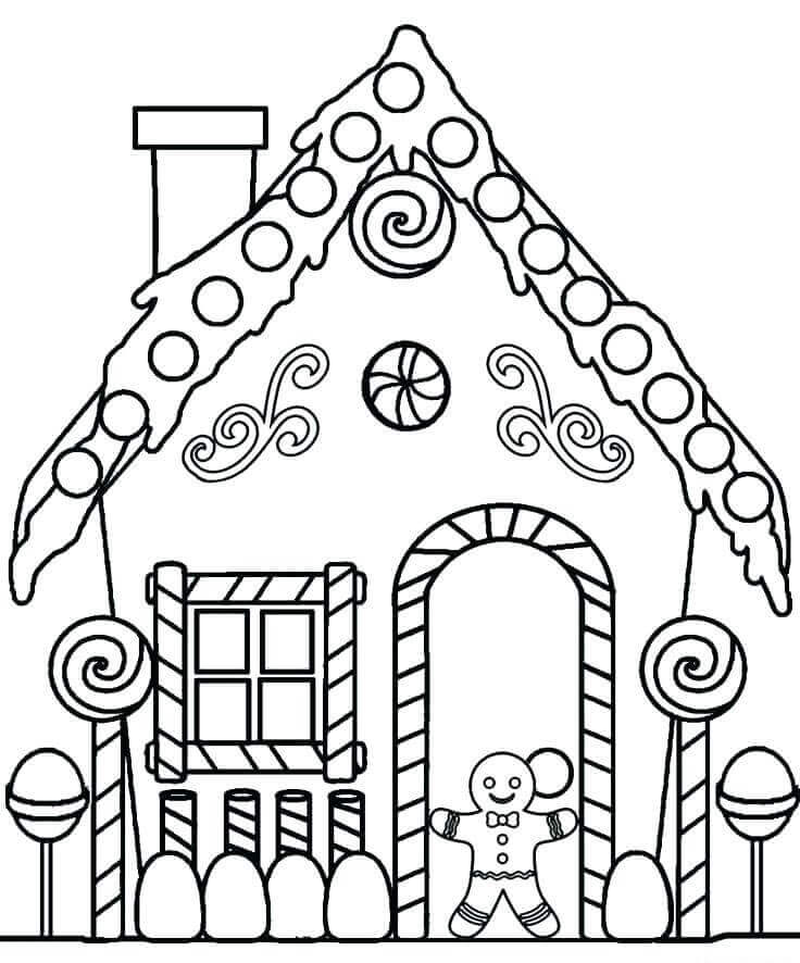 Christmas Coloring Sheets For Preschoolers Free Printable