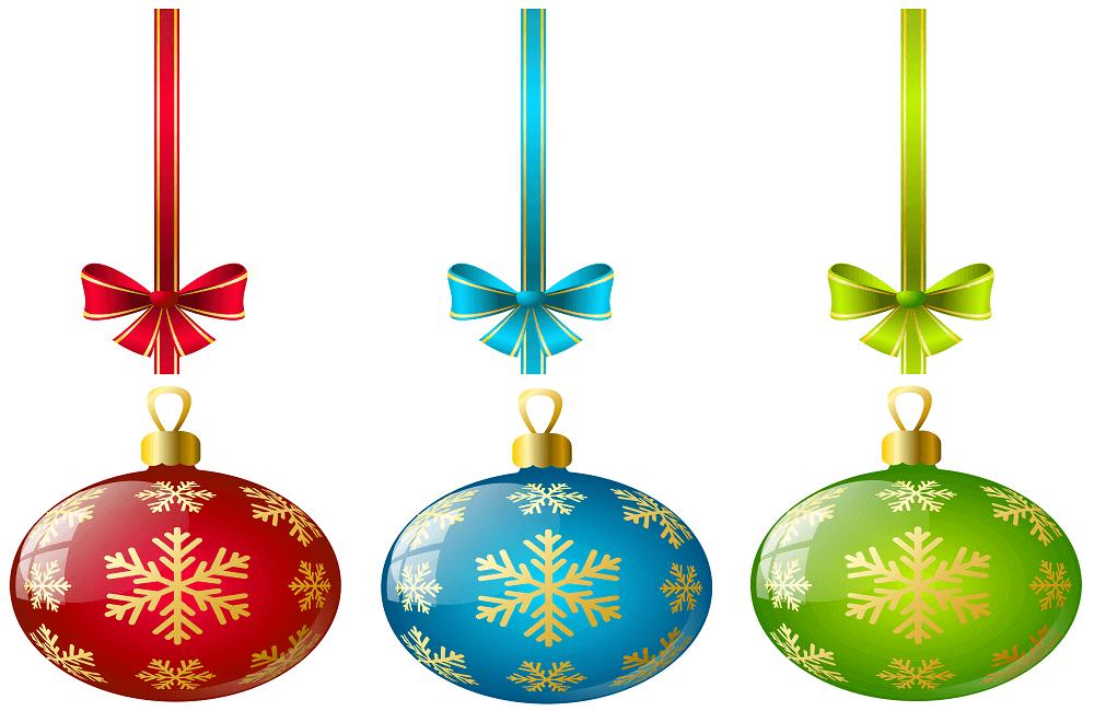 Free Christmas Ornaments Coloring