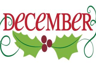 December Clipart