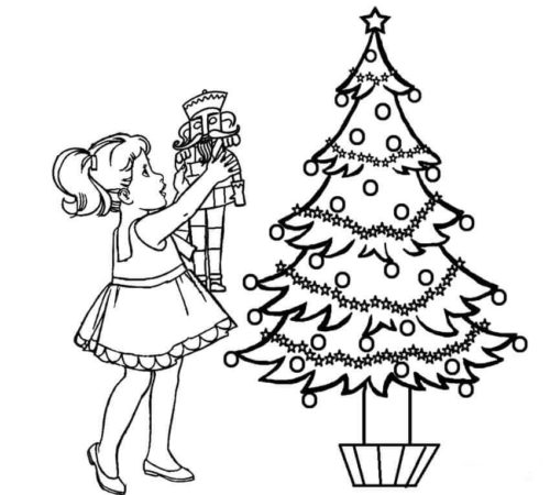 Free Nutcracker Coloring Pages To Print