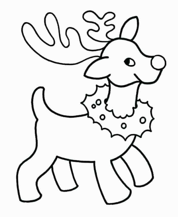 20 Free Christmas Coloring Pages For Preschoolers Printable