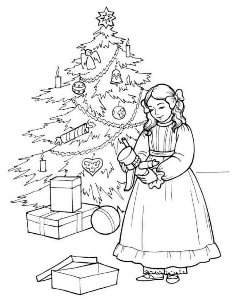 Free Printable Christmas Nutcracker Coloring Pages