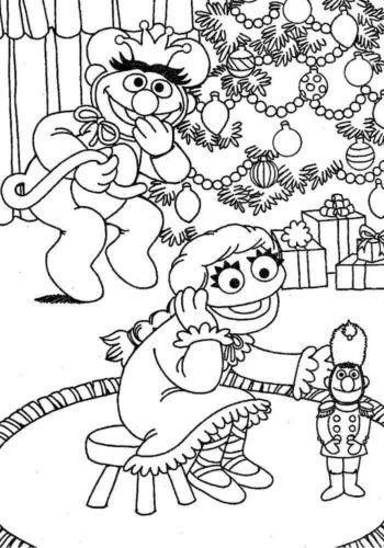 Free Printable Nutcracker Coloring Pages