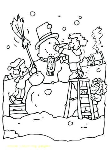 Free Printable Snowman Coloring Sheets