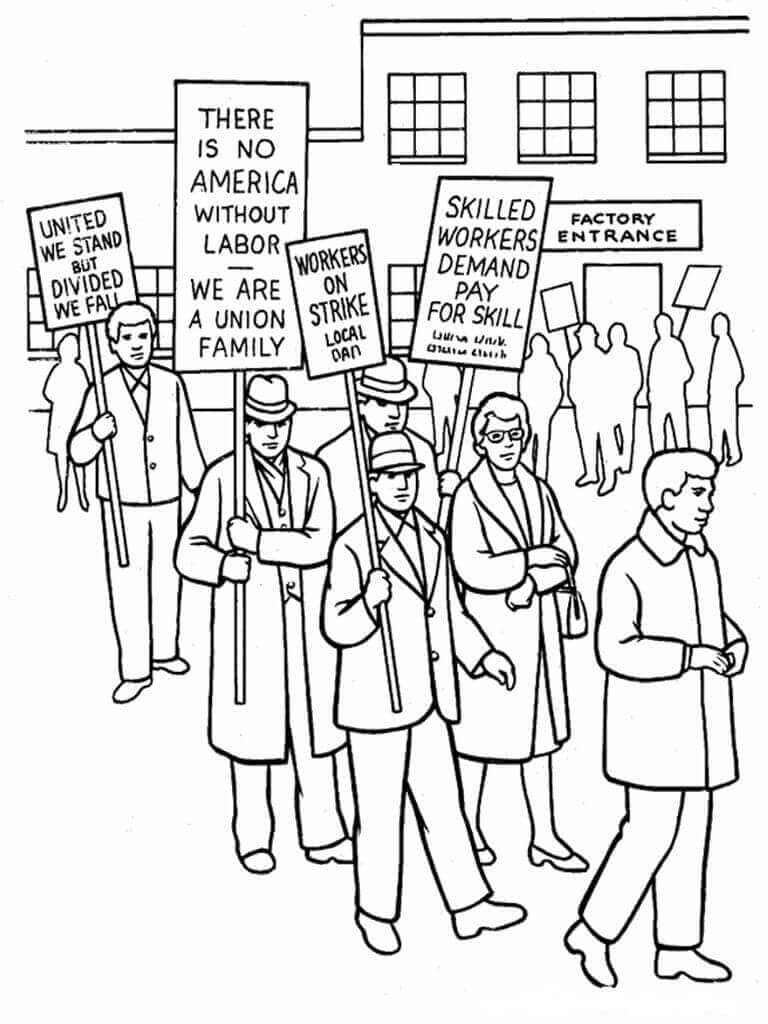 Human Rights Day Coloring Page