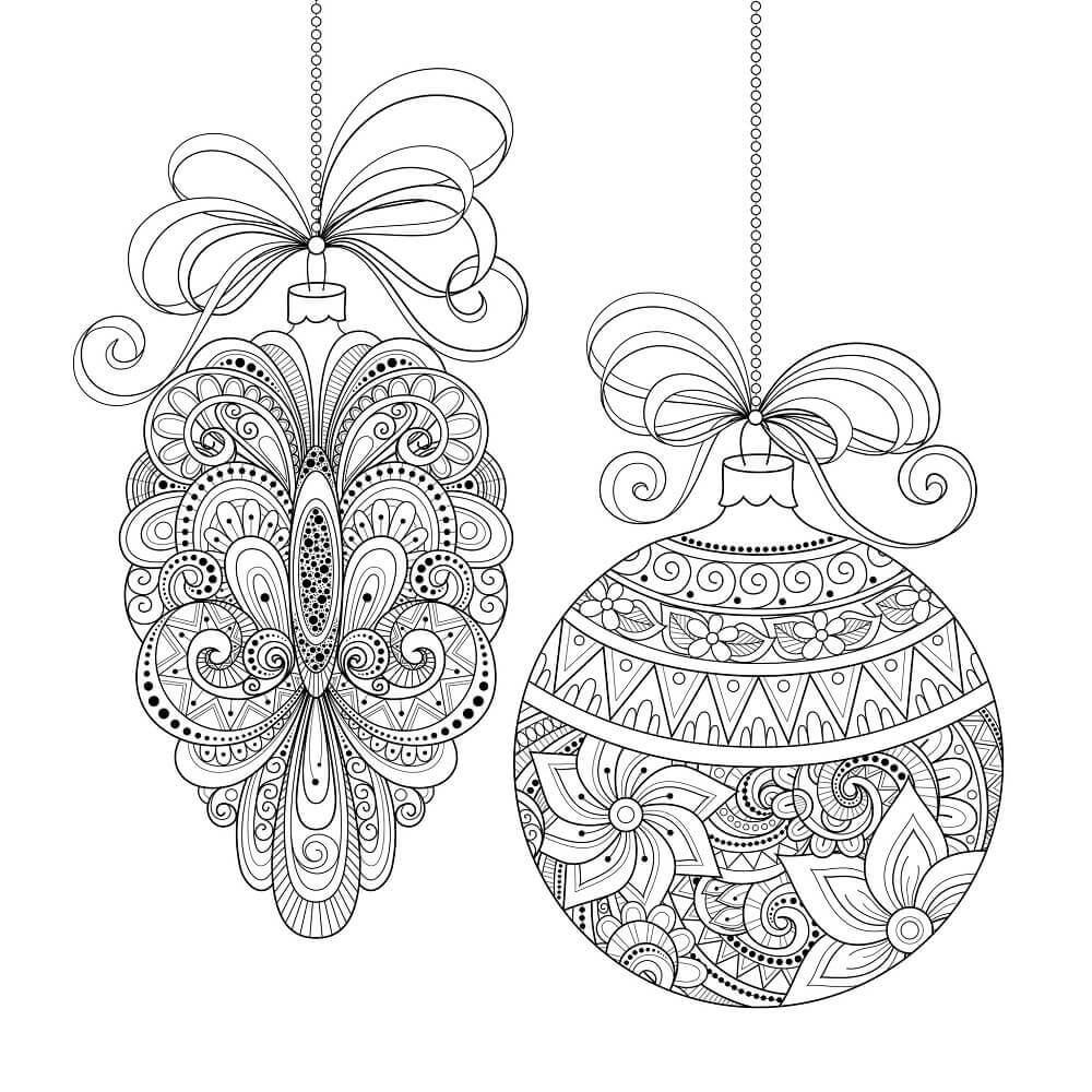 Intricate Christmas Ornaments