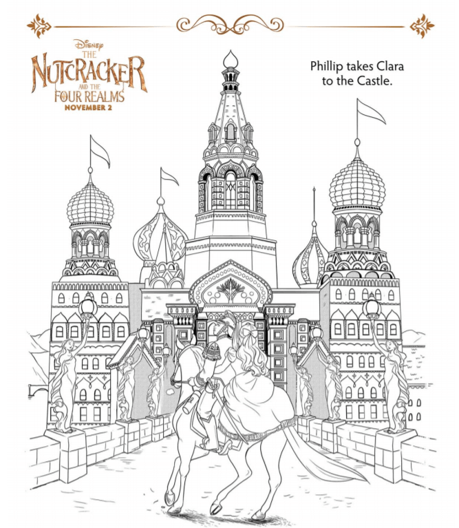 Nutcracker And The Four Realms Coloring Pages